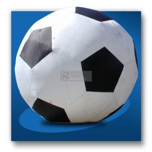Aufblasbarer Riesen-Fußball Rheine