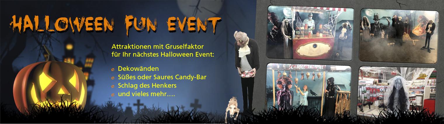 Halloween Eventmodule & Eventattraktionen
