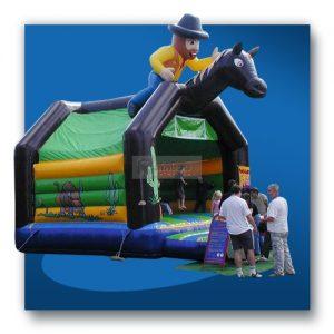Cowboy Western Hüpfburg