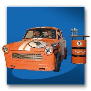 Fahrsimulator Trabant Wirtschaftsschau