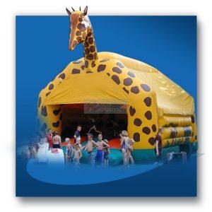 Giraffen Hüpfburg
