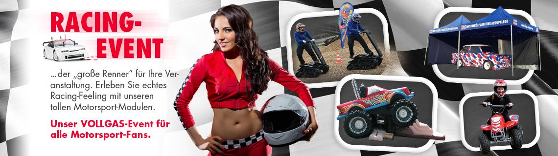 Motorsport Eventmodule & Eventattraktionen