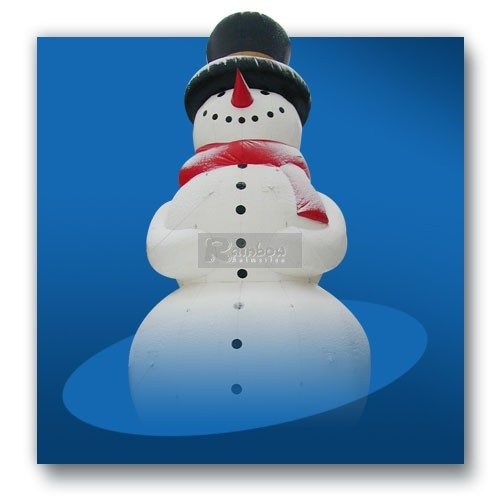 Aufblasbarer Schneemann