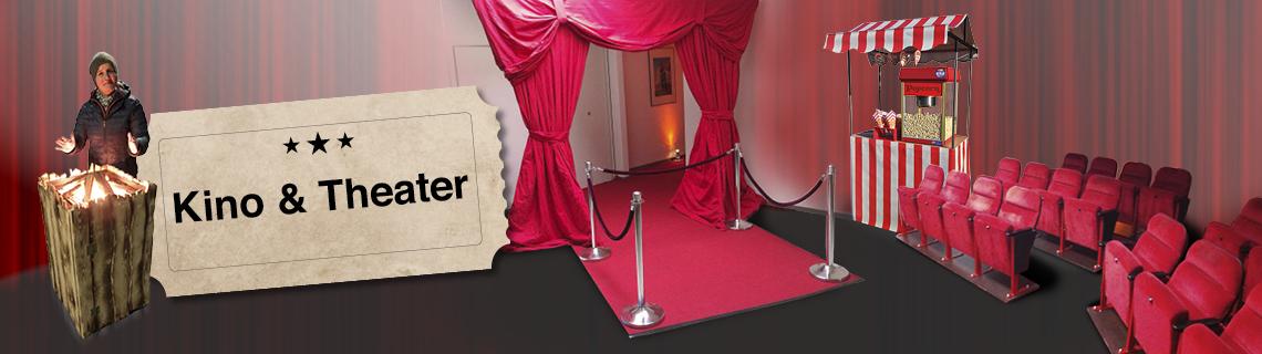 Eventmodule und Eventattraktionen für Kino und Theater
